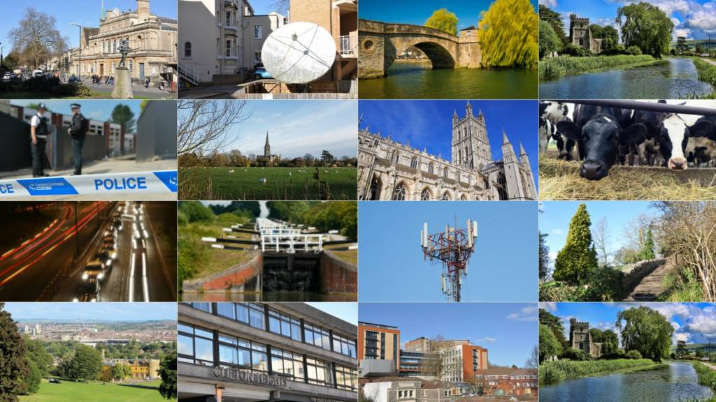 Montage of West Country photos