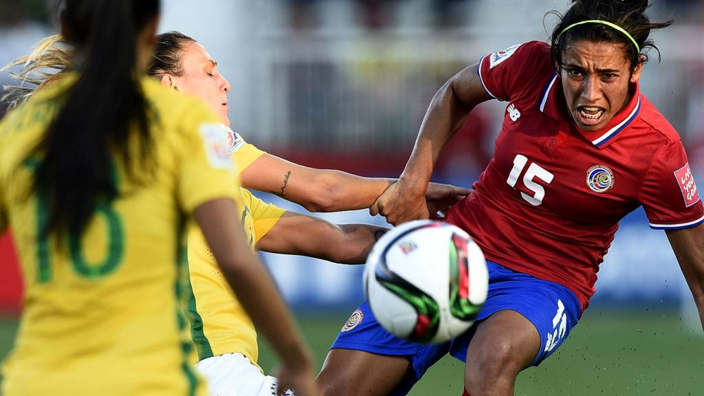 80b7b6a9647 Fifa Women s World Cup  Costa Rica v Brazil - as it happened - Live ...