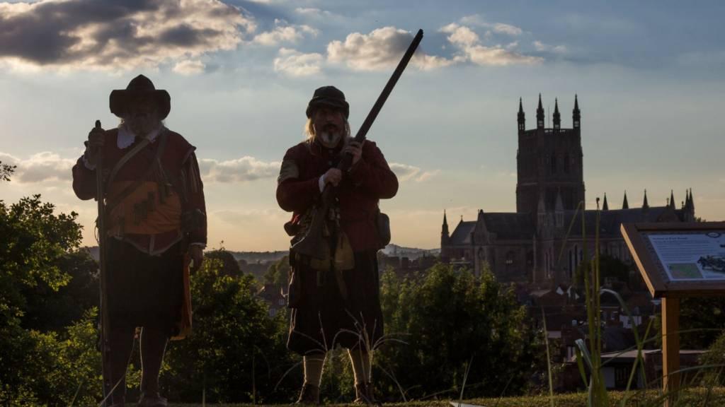 Civil War figures in Worcester