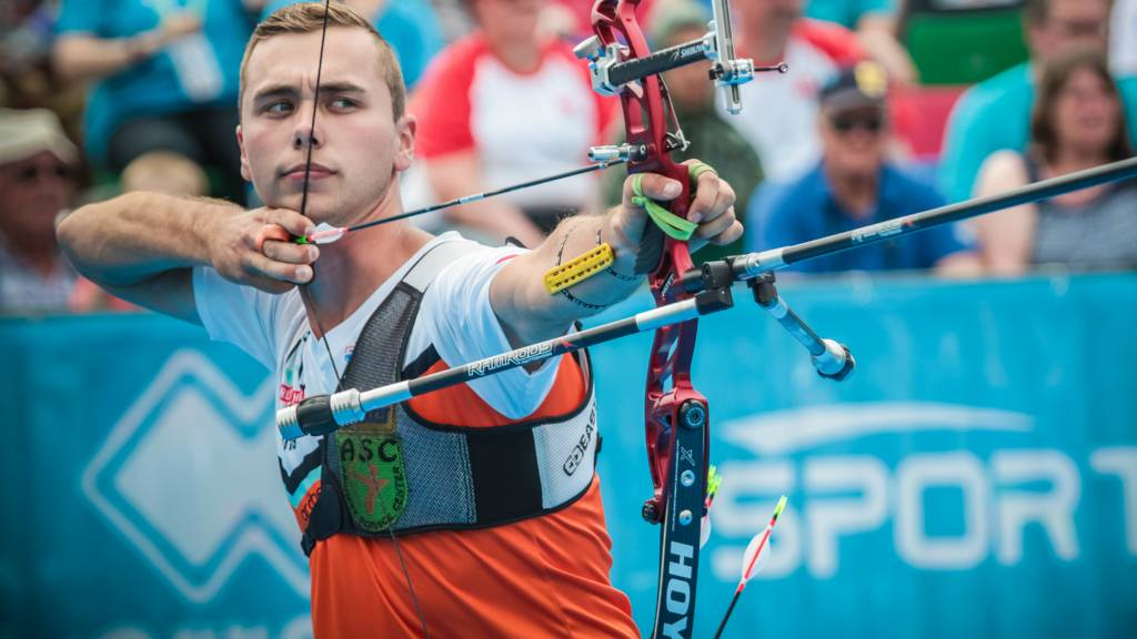 Steve Wijler of the Netherlands
