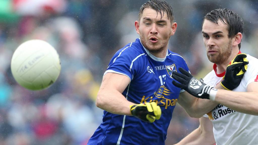 Action from Cavan against Tyrone