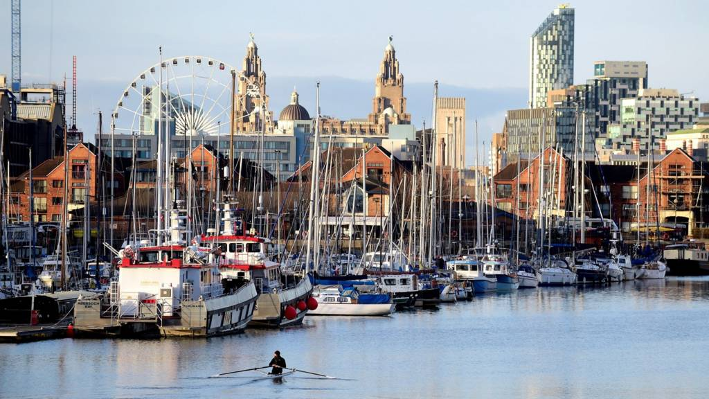 Marina in Liverpool