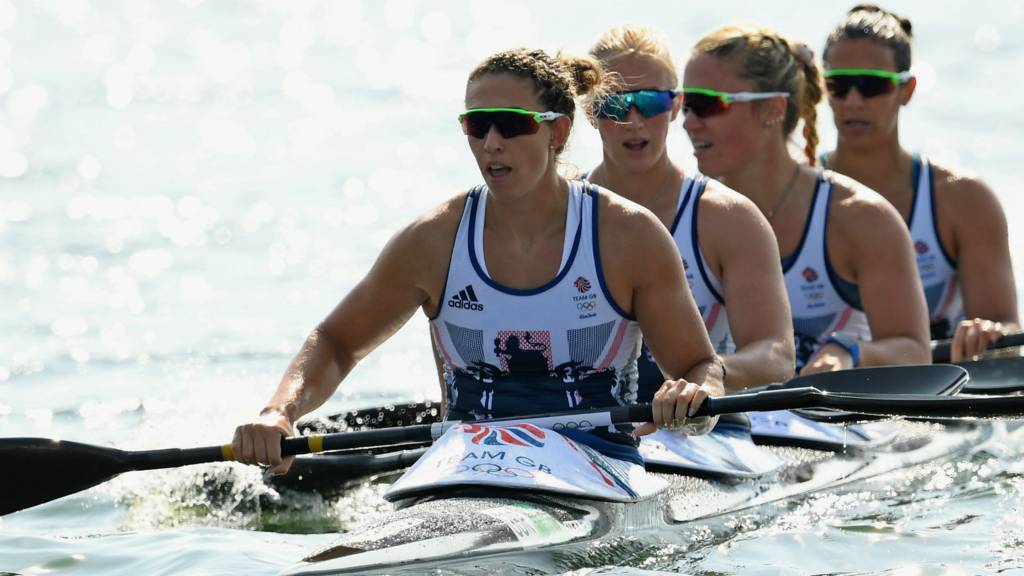 GB women's 500m kayak