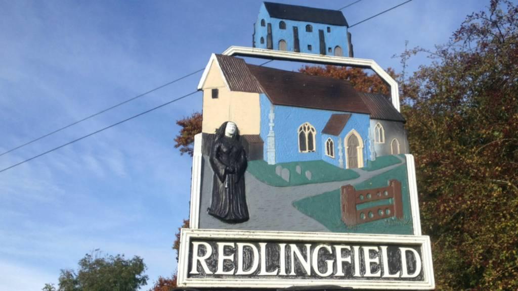 Redlingfield village sign