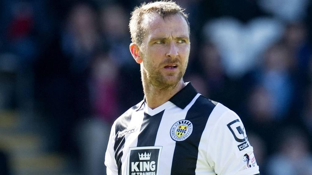 St Mirren defender Andy Webster