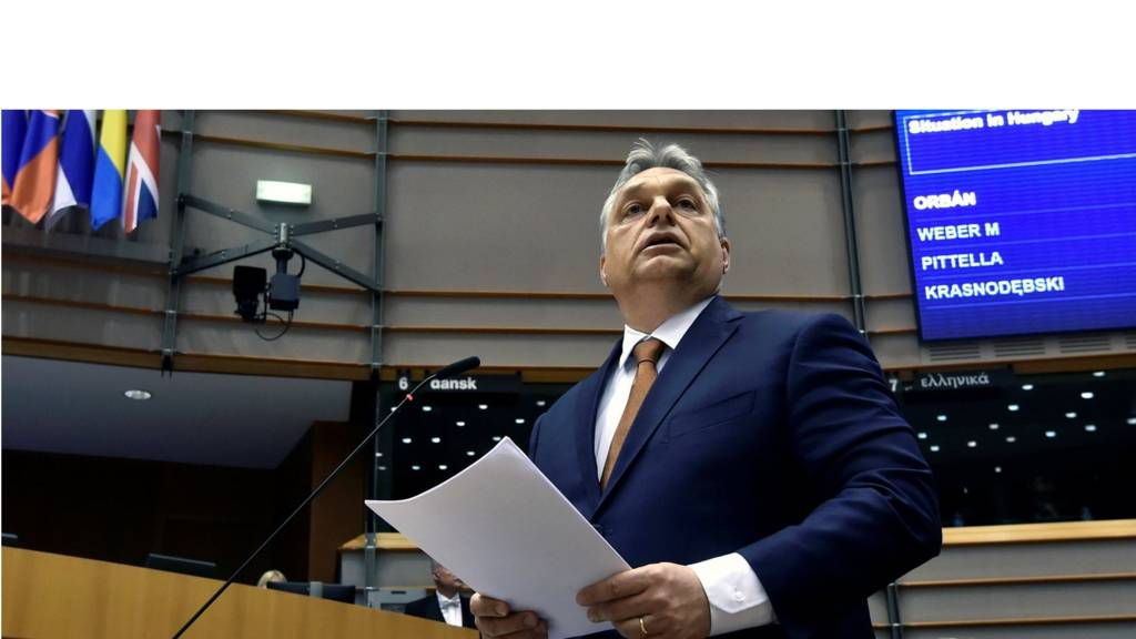 Viktor Orban in Brussels