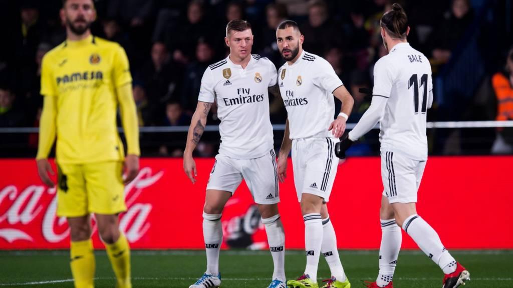 Villarreal V Real Madrid Live In La Liga Live BBC Sport