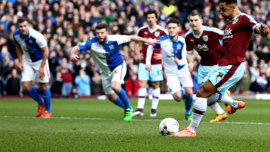 Andre Gray puts Burnley ahead