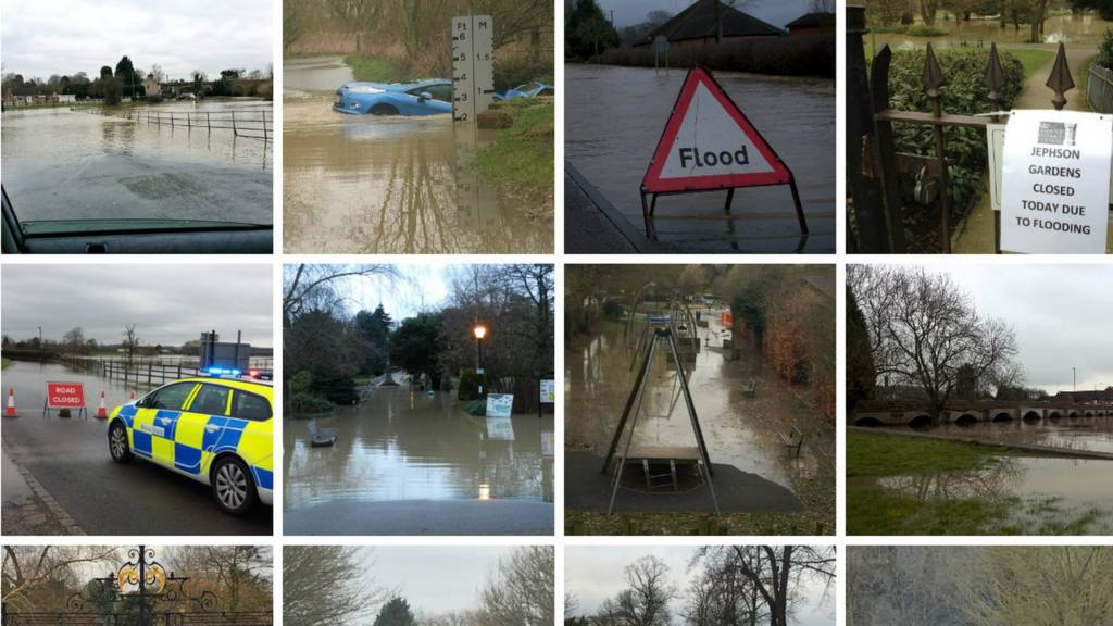 Pictures of flooding