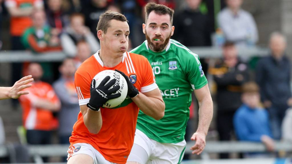 Armagh hosted Fermanagh at the Athletic Grounds