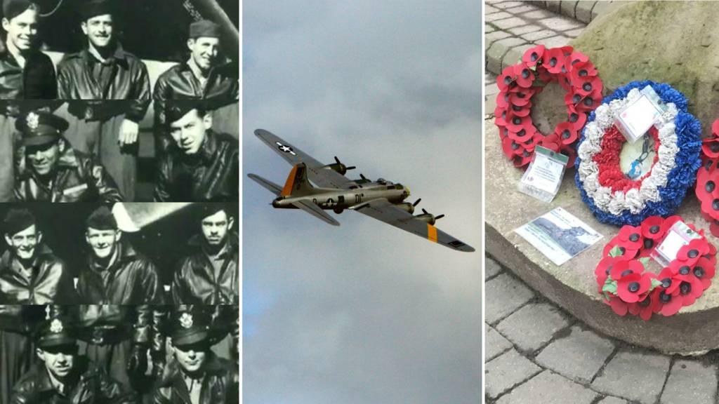 Crew, B17, memorial