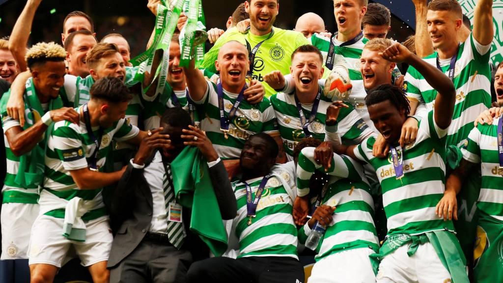 Celtic celebrate