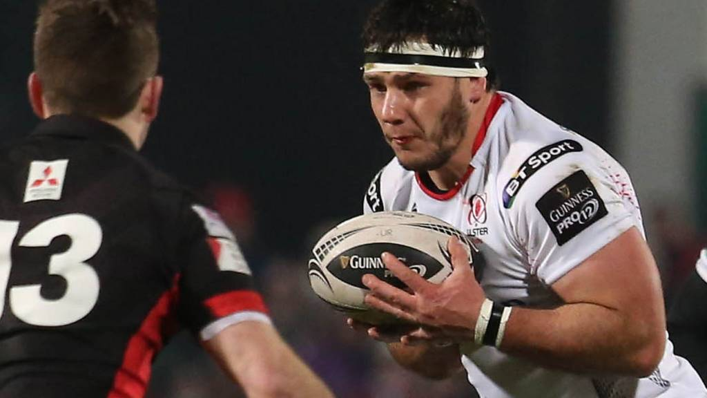 Marcell Coetzee in action for Ulster