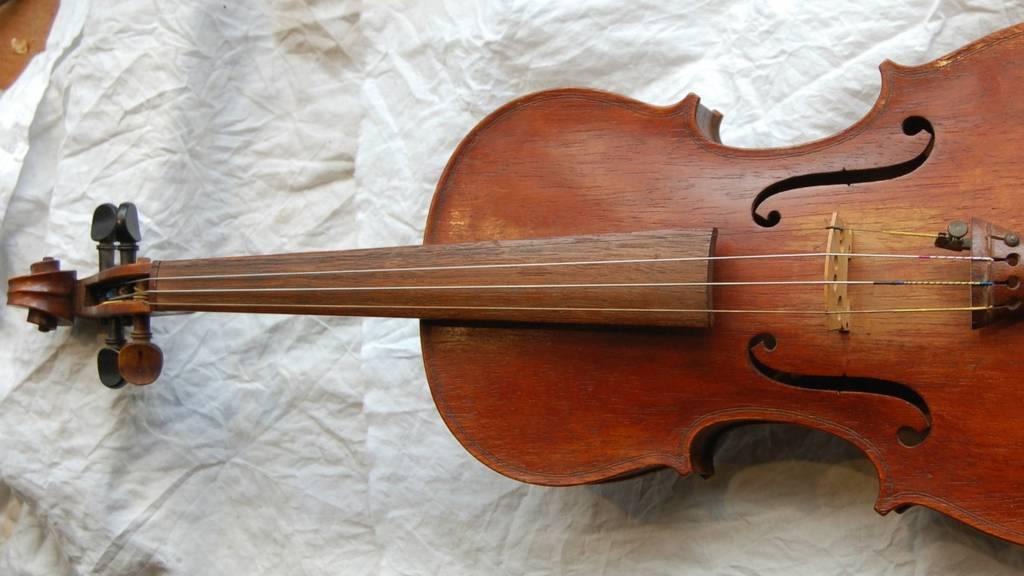 Restored violin