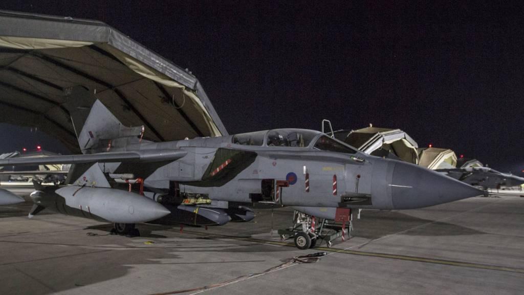 RAF tornado in Cyprus