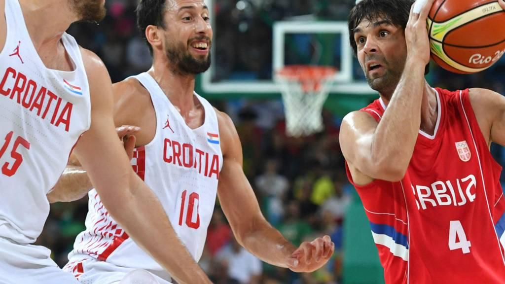 Serbia v Croatia