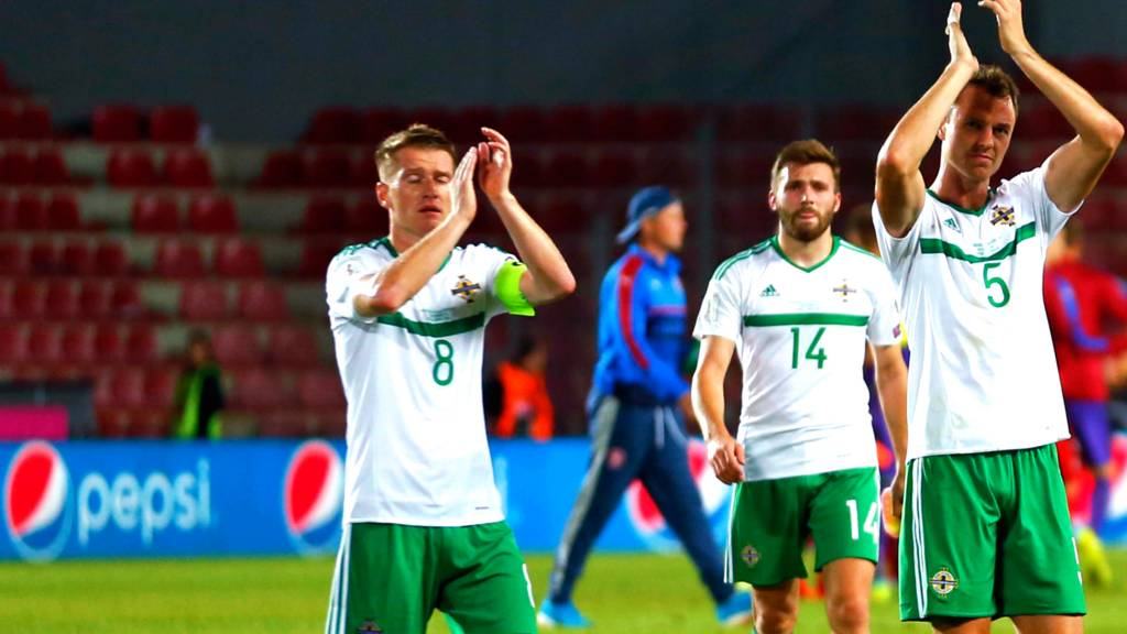 Northern Ireland at full time