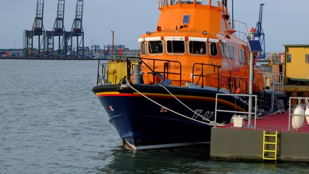 Harwich lifeboat