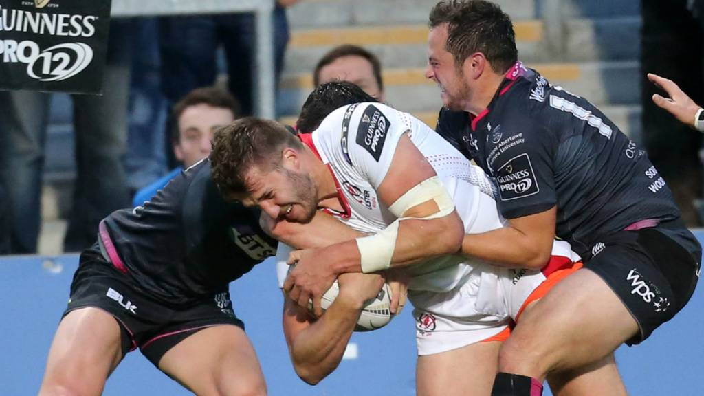Action from Ulster against Ospreys