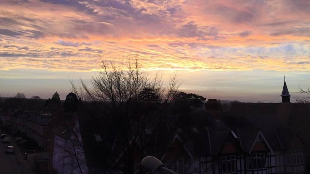 Dawn over Oxford