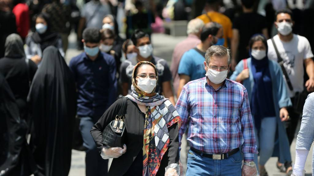 Iran street scene