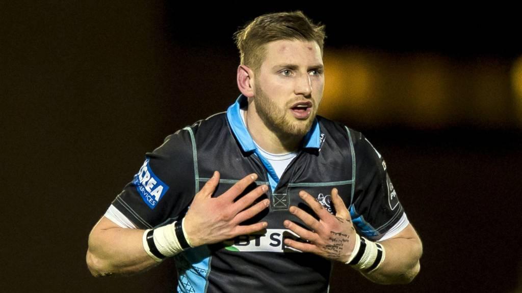 Glasgow stand-off Finn Russell