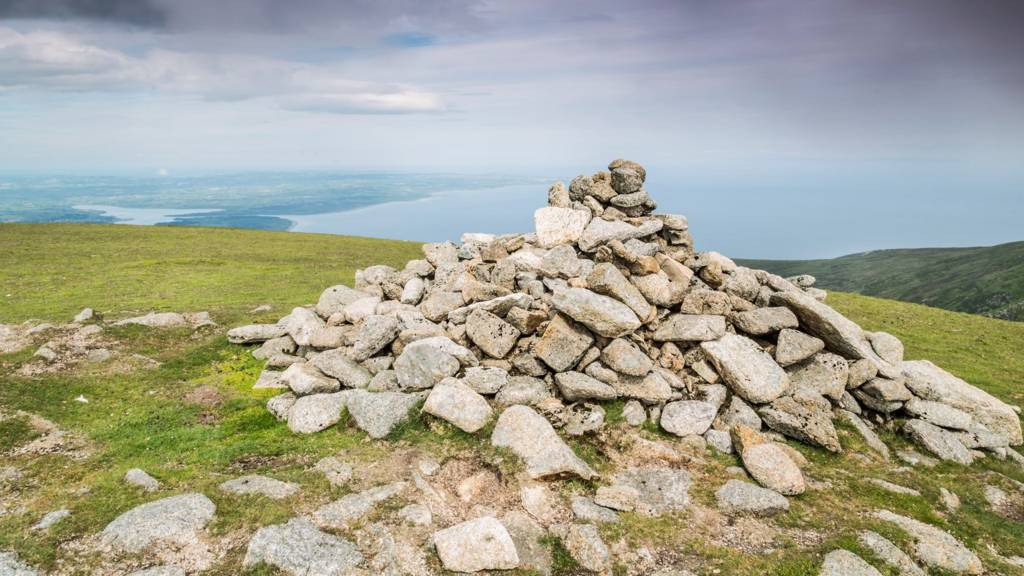 Top of Slieve Commendagh