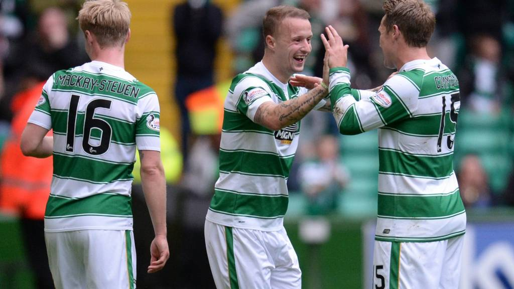 Celtic are on their way to a four-point lead at the top of the Premiership