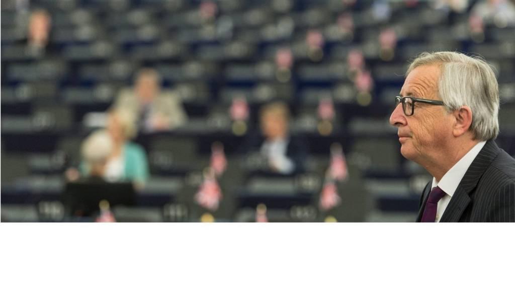 Jean-Claude Juncker at European Parliament