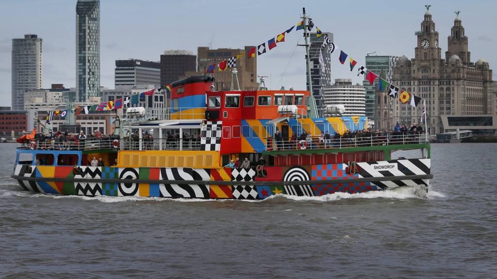 Ferry on Mersey