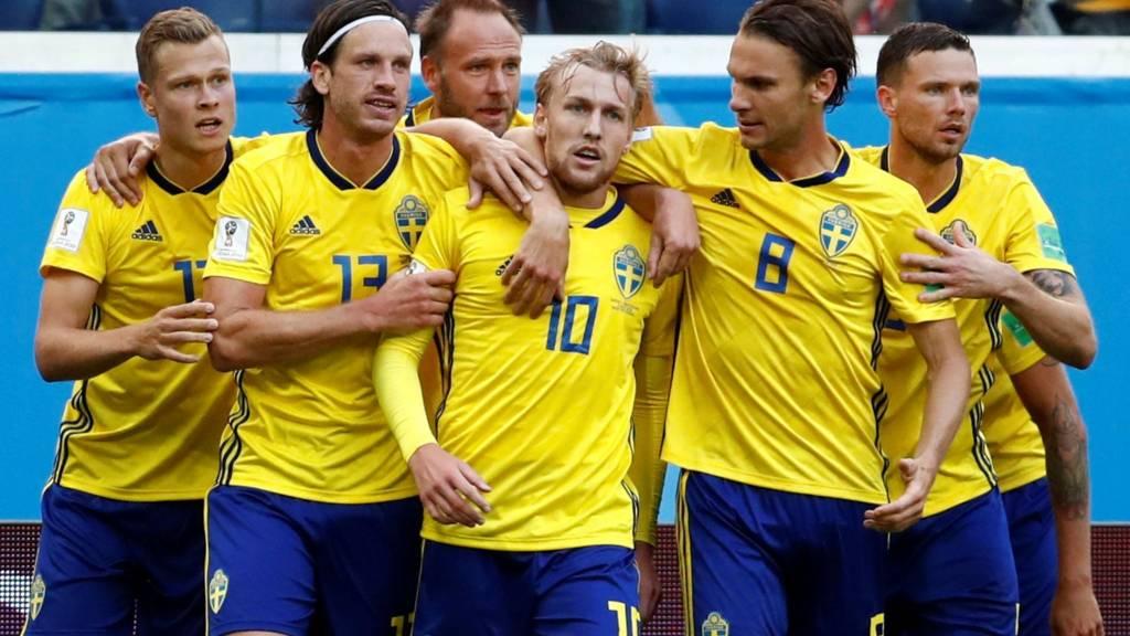 882135e4494 Catch-up  Fifa World Cup last 16 - Sweden v Switzerland - Live - BBC ...