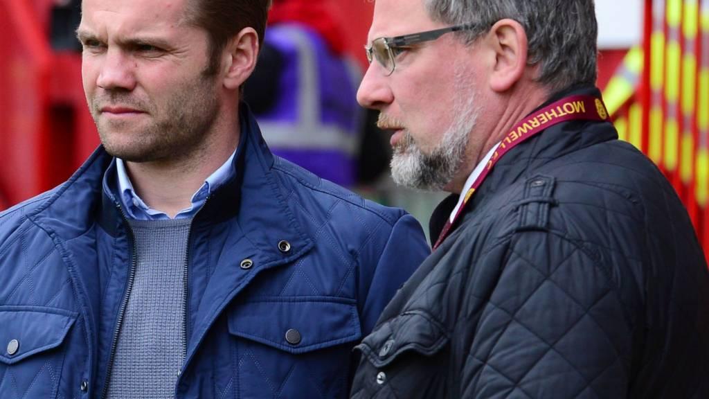 Robbie Neilson and Craig Levein