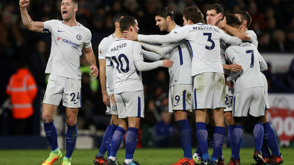 Hazard scores for Chelsea