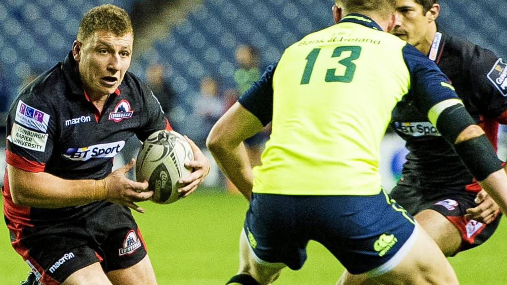 Duncan Weir in action for Edinburgh against Leinster