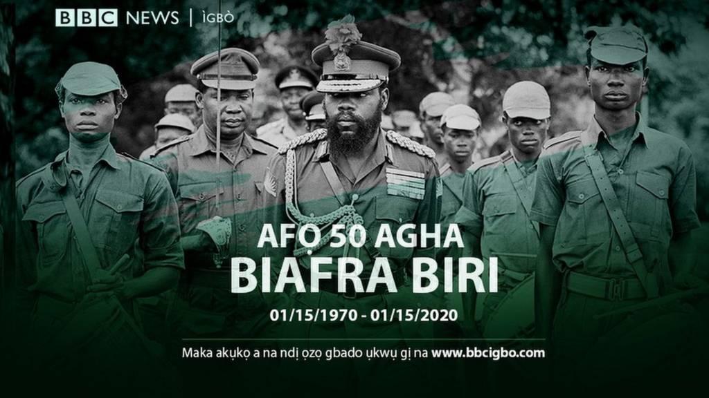 Ncheta ụbọchị afọ 50 agha Biafra biri