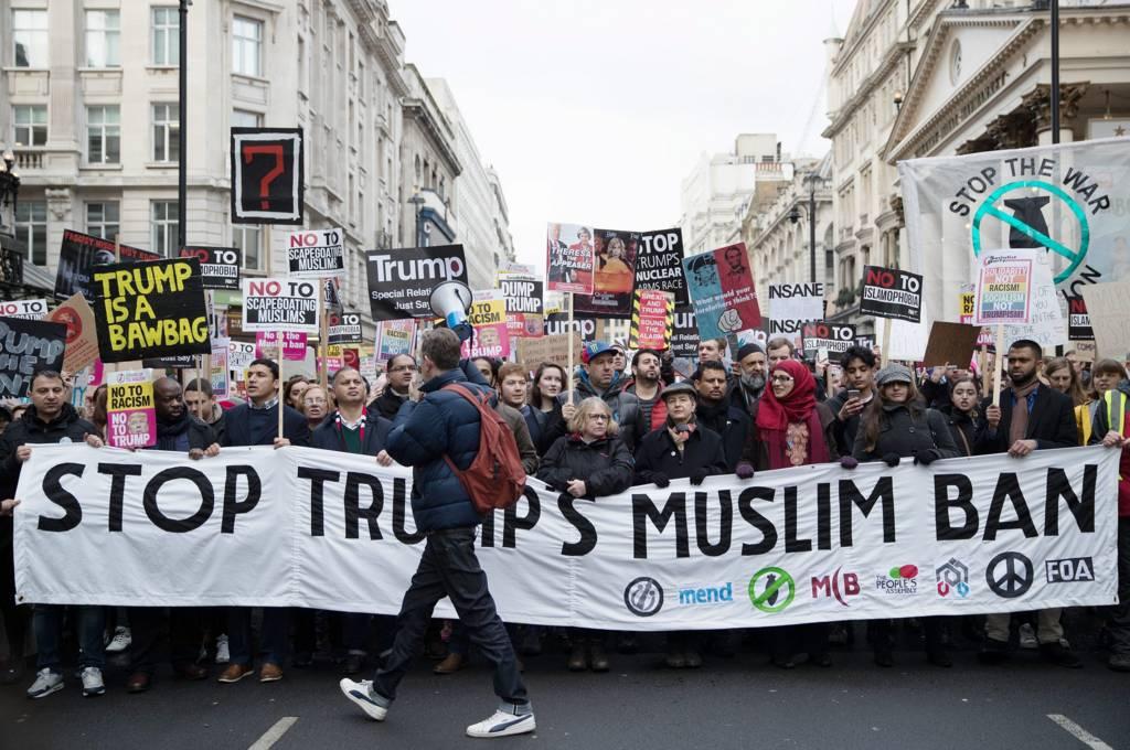 اعتراضات علیه ترامپ