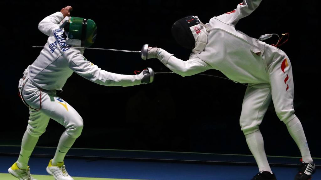 Fencing at Rio 2016