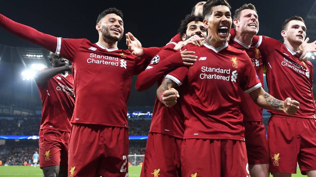 Image result for Liverpool vs AS Roma Live