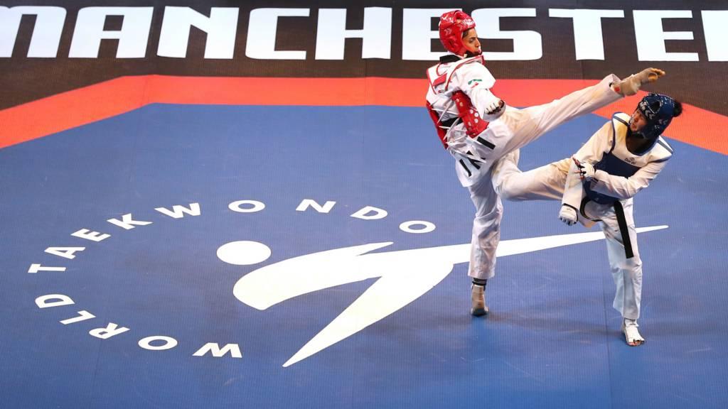 ec6bab41b59f5 Catch-up: Taekwondo World Championships - semi-finals