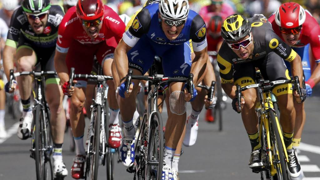 Marcel Kittel of Germany wins stage four