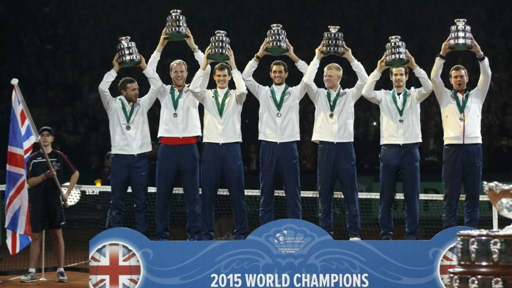 Andy Murray wins Davis Cup for Great Britain - BBC Sport