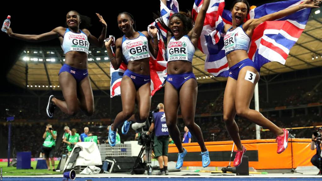 European Championships Gb 4x100m Teams Muir Win Gold Watch The Best Moments