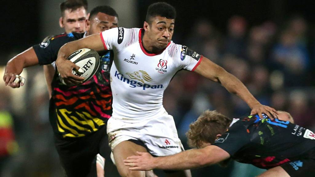 Robert Baloucoune in action for Ulster