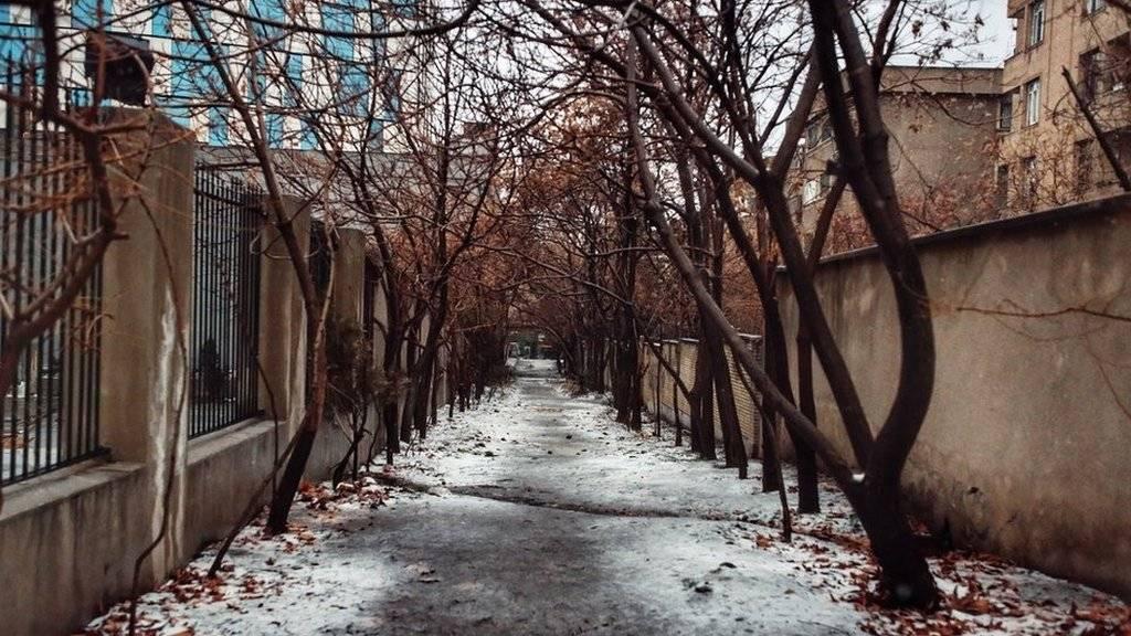هوای برفی تهران