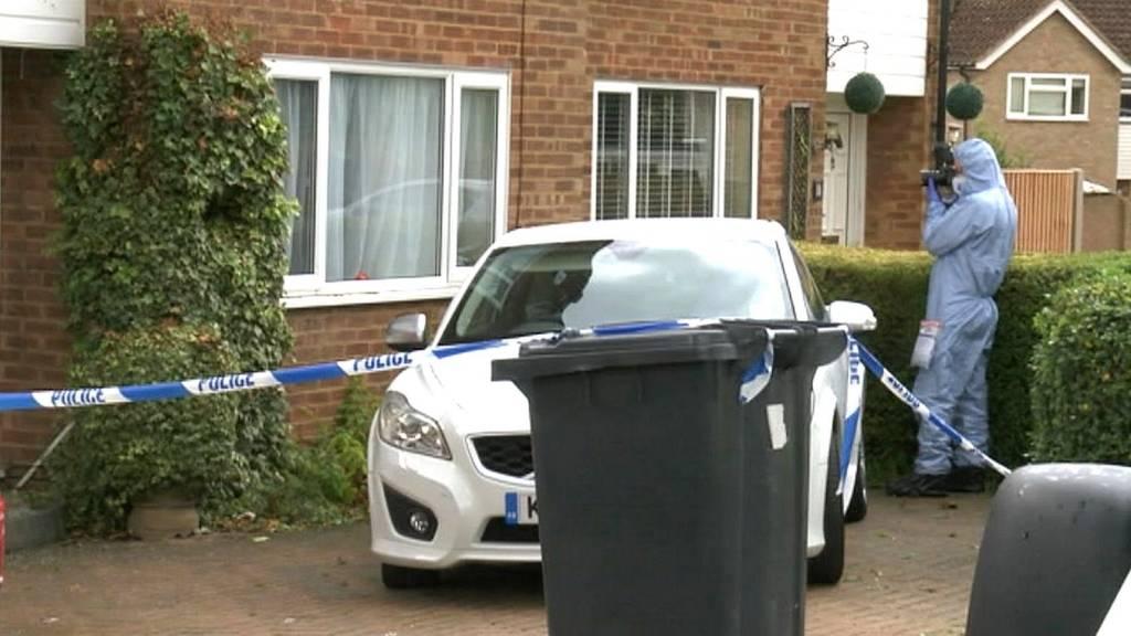 Forensic teams at home of Samantha Ho