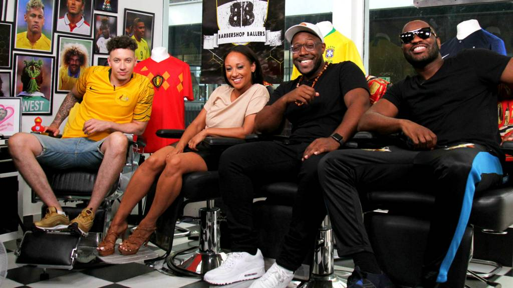 Lethal Bizzle, Lisa Maffia and comedian Aurie Styla