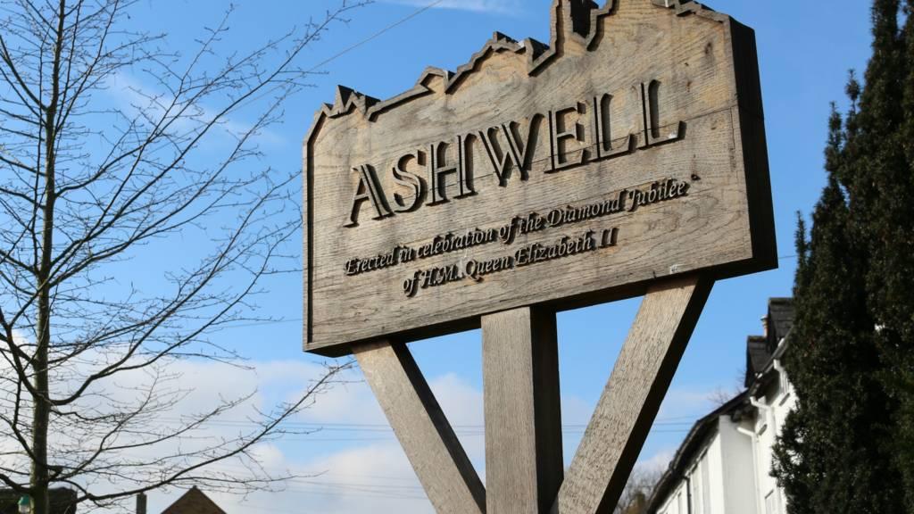Ashwell village sign
