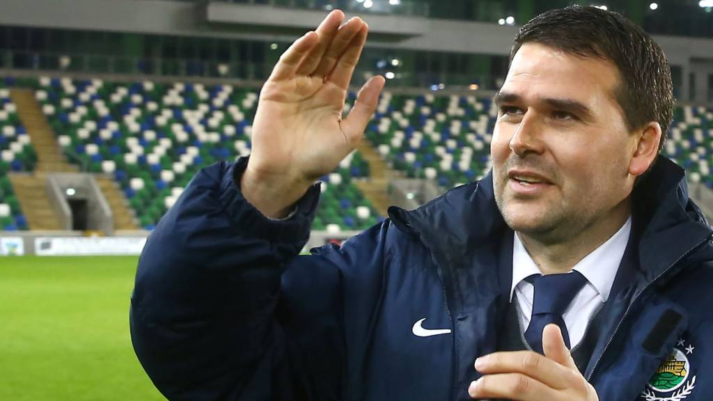 New Linfield manager David Healy