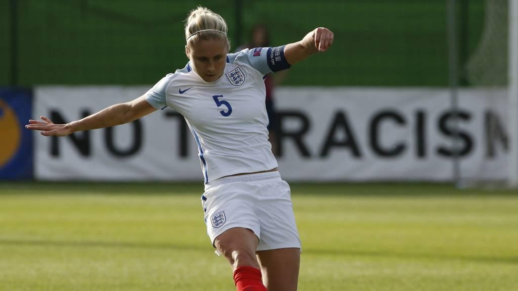 England's Stephanie Houghton