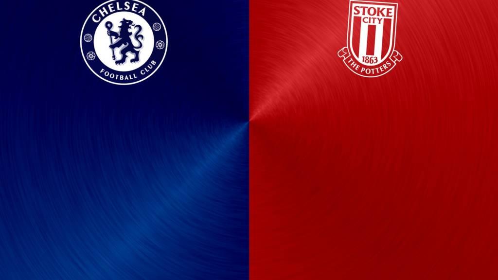 Chelsea v Stoke badges